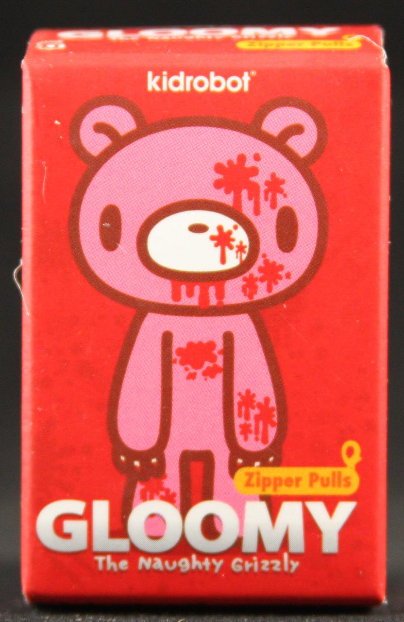 Kidrobot, Gloomy Bear Zipper Pull