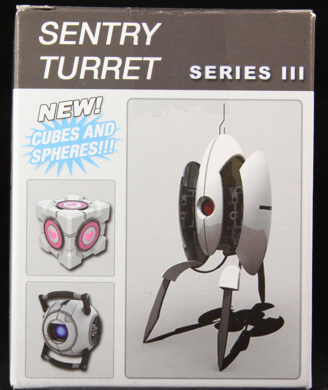 Portal 2 Series 3 Blind Box Turrets Blindboxes