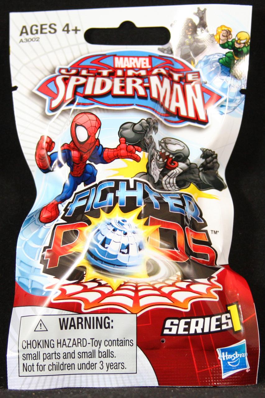 Spider Man Spider Pods Fighter Pods Series 1 Blind Bag