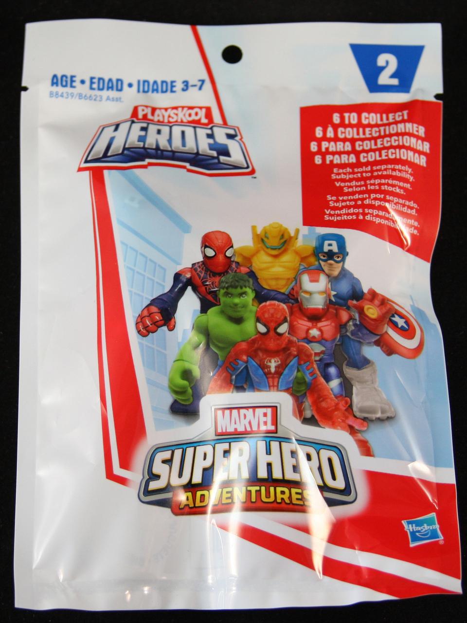 Marvel Super Hero Adventures Wave 2 Blind Bag Blindboxes