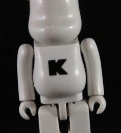 """Be@rbrick 20, Basic """"K"""""""
