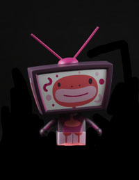 TV Heads, Artist: Mizna Wada
