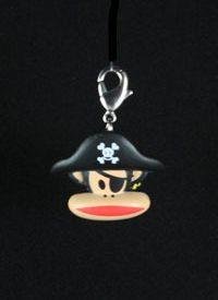 Paul Frank Zipper Pull: Pirate Head