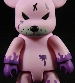 Kozik Redrum, Pink/Purple Bear