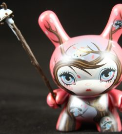 Dunny 2011, Nature Spirits (Pink) by 64 Colors