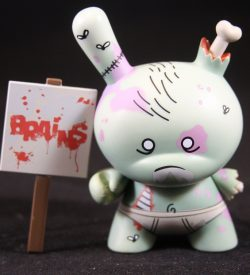 Dunny 2011, Zombie by Huck Gee