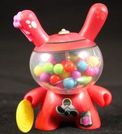 Dunny 2011, Bubblegum Machine by Mr. Frames