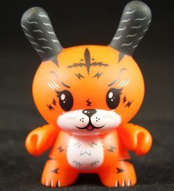 Dunny 2011, Ken the Mysterious Tiger by Squink!