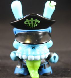 Dunny 2011, Zombie Biker Blue by MAD