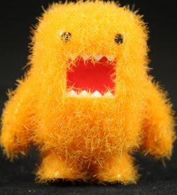 Fuzzy Orange Domo