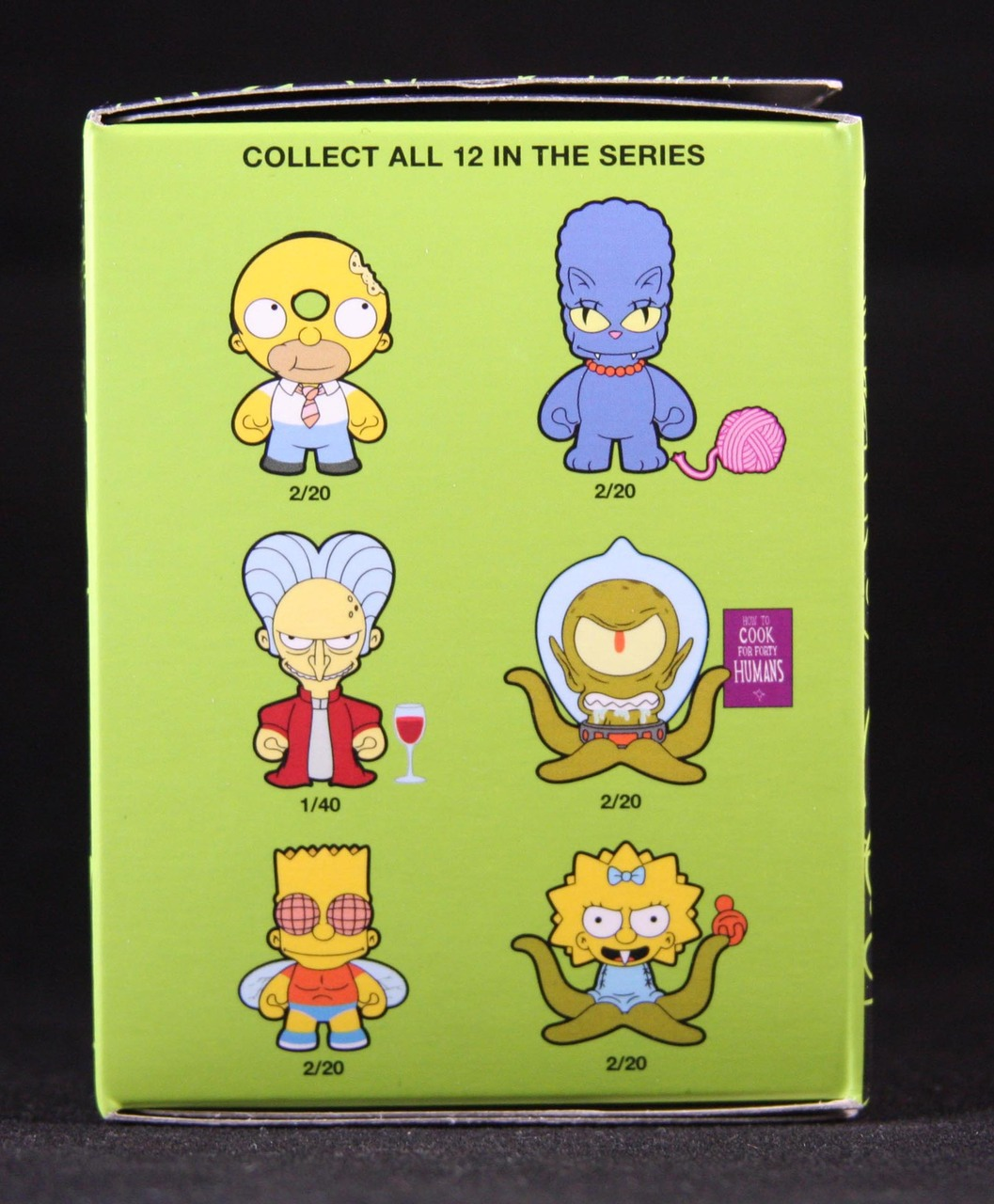 simpsons treehouse of horror blind box - blindboxes