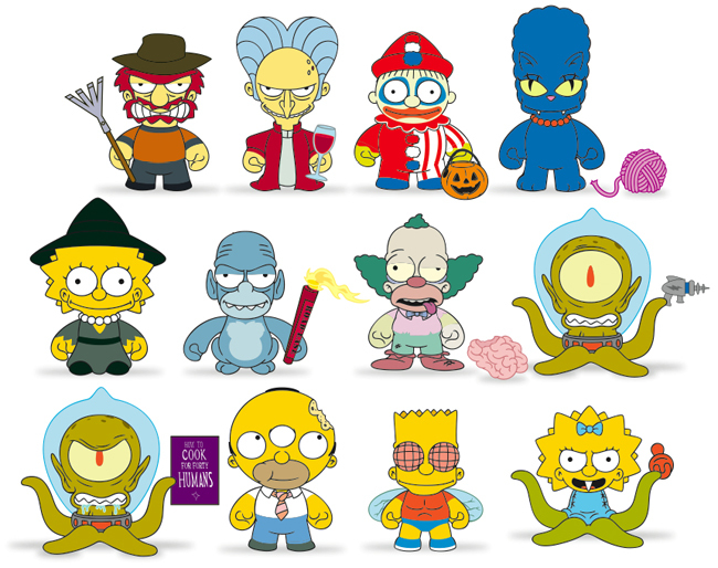 Simpsons Treehouse Of Horror Blind Box Blindboxes