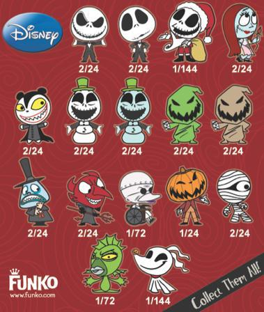 Nightmare Before Christmas, Mystery Mini - BlindBoxes
