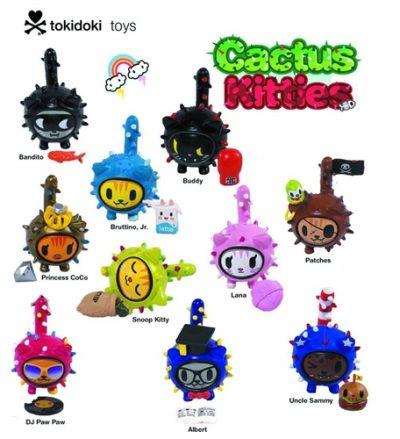 Tokidoki, Cactus Kitties, Blind Box