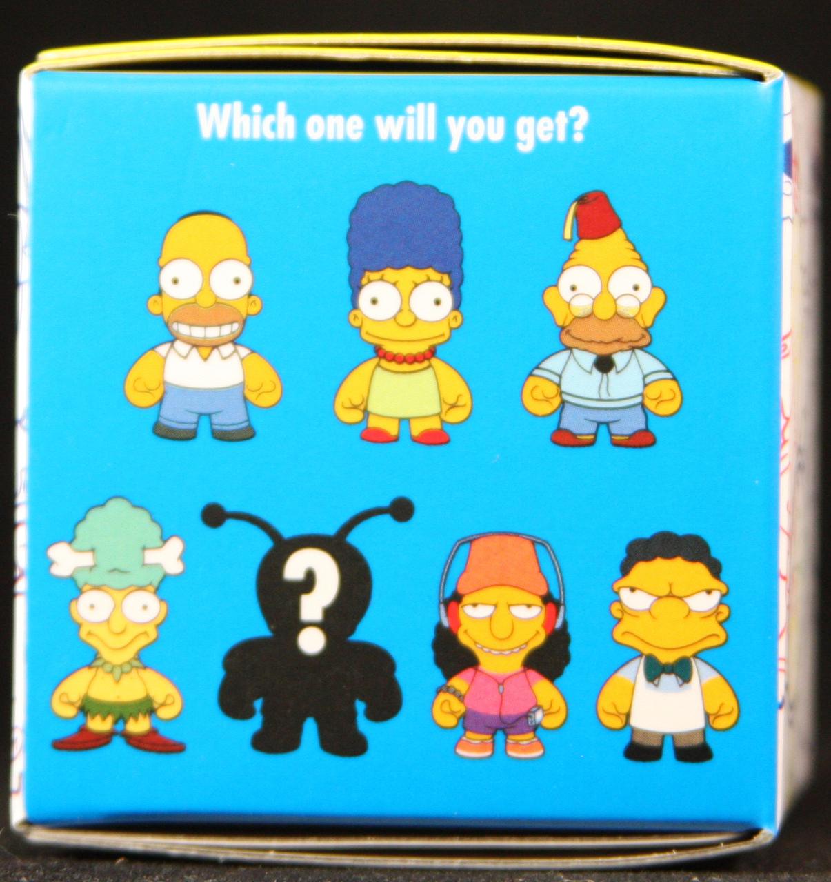Kidrobot The Simpsons Keychain Blind Box Bart Simpson BRAND NEW In Box!