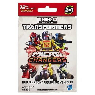 Kre-O, Micro Changers, Transformers, 2013 Collection 1