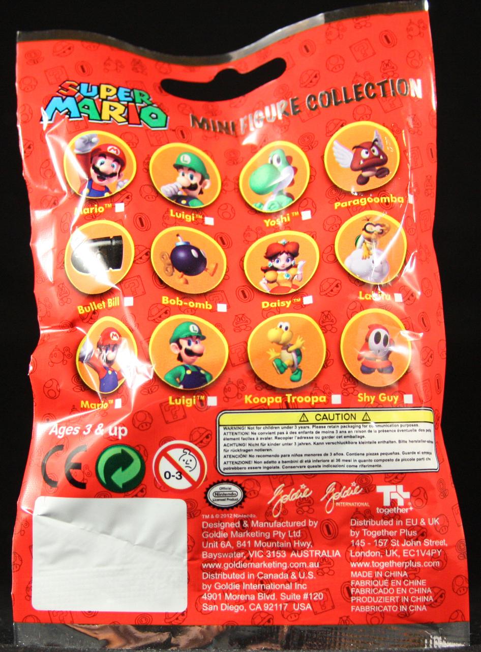 Mario Brothers Series 1 2 Blind Bag Blindboxes
