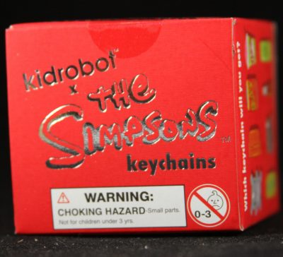 Kidrobot, The Simpsons 25 Years Keychains, Blind Box
