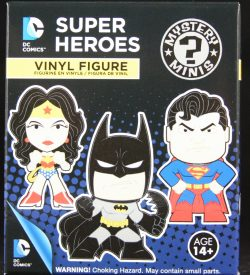 DC Super Heroes, Series 1, Mystery Mini