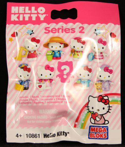 Mega Bloks, Hello Kitty, Series 2, Blind Bag