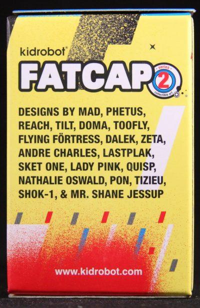 Kidrobot, Fatcap, Series 2, Blind Box