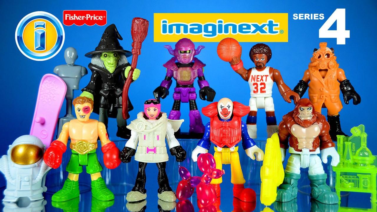 Imaginext Collectible Mini Figure Series 4 Blind Bag