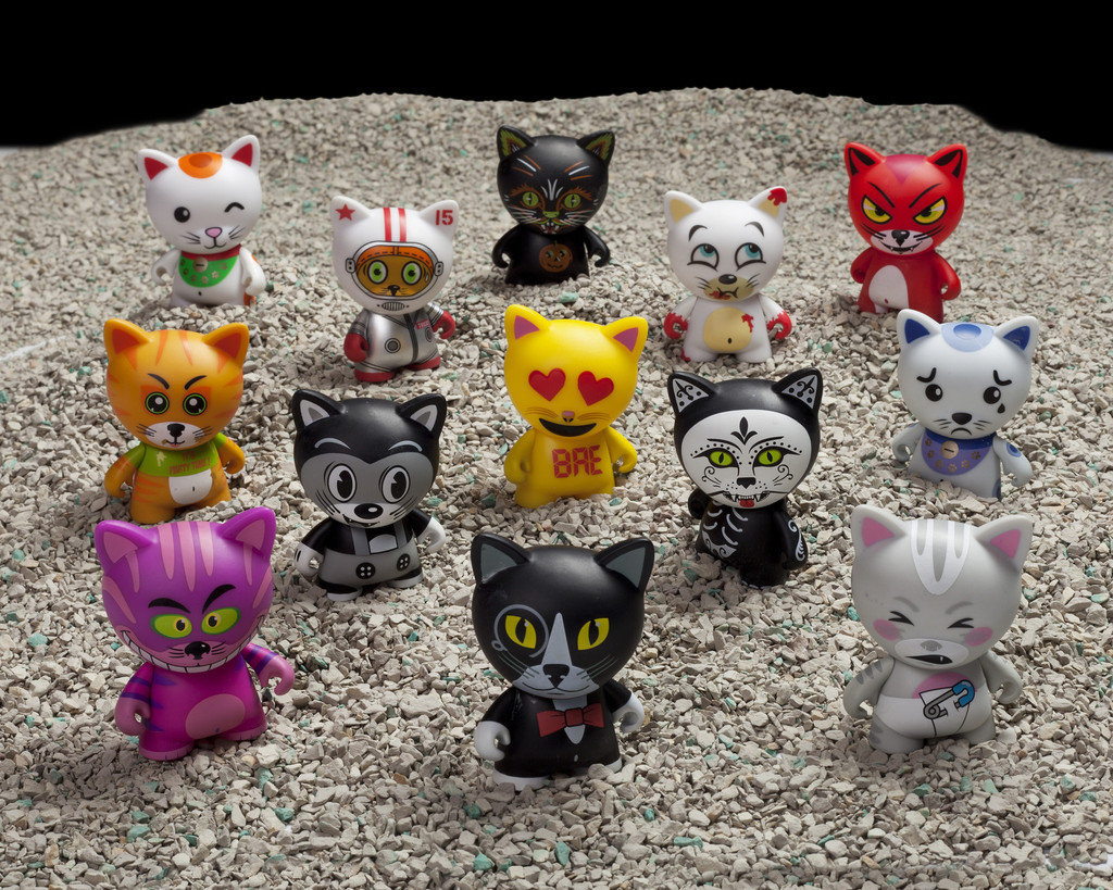 Kidrobot Tricky Cats Blind Boxes Quot They Re A Handful