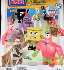 Mega Bloks, Sponge Bob Squarepants, Series 2, Blind Bag
