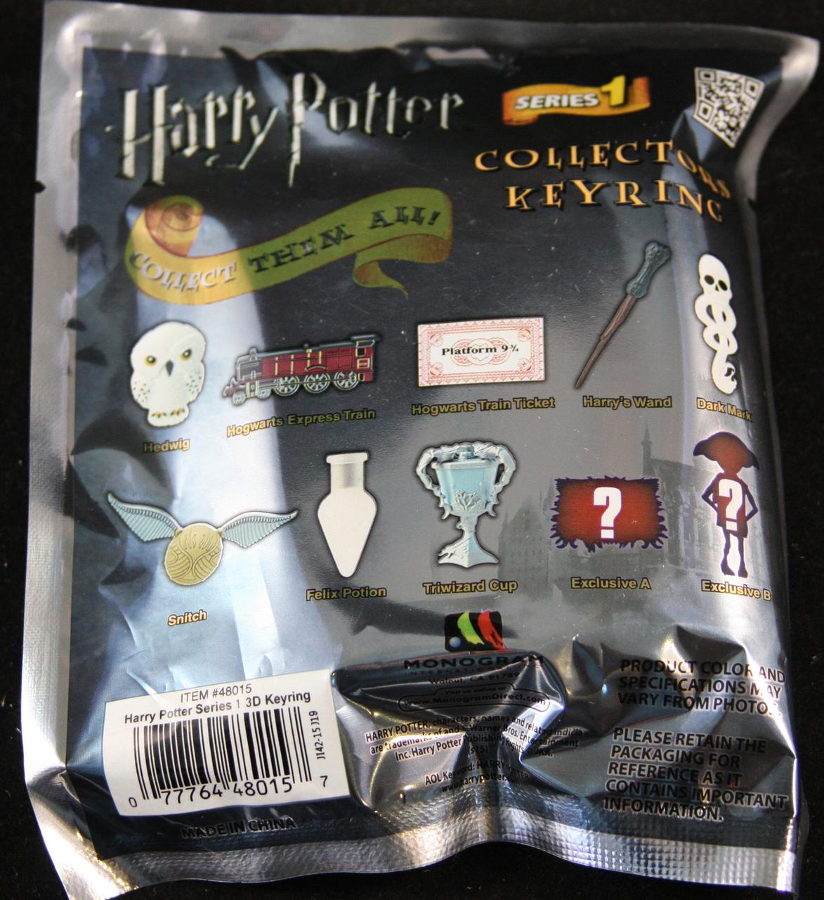 Harry Potter Collectors Keyring Blind Bag Blindboxes