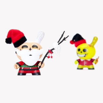 Kidrobot, Saner Christmas X-Mas Burglars Holiday Dunny, Blind Box