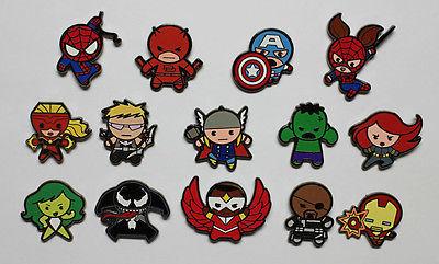 Marvel Kawaii Collector Art Pins Blind Bag Blindboxes