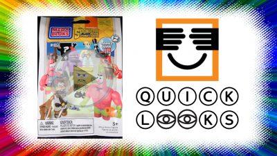 Quick Look: SpongeBob MegaBloks (Open Item)
