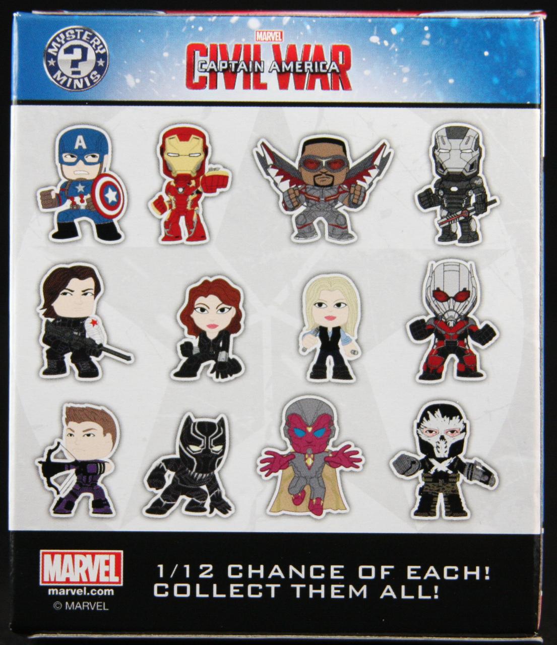 Marvel Captain America 3 Civil War Mystery Mini Blind