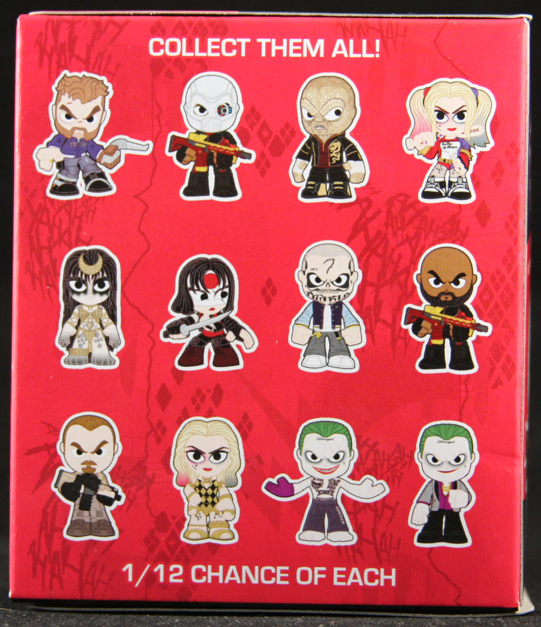 Mystery: Suicide Squad, Mystery Minis