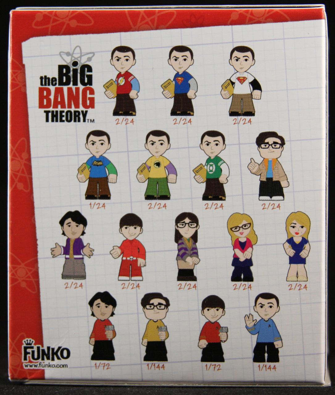 The Big Bang Theory Mystery Minis Blindboxes