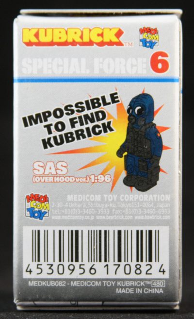 Special Forces, Kubrick, Series 6, Blind Box