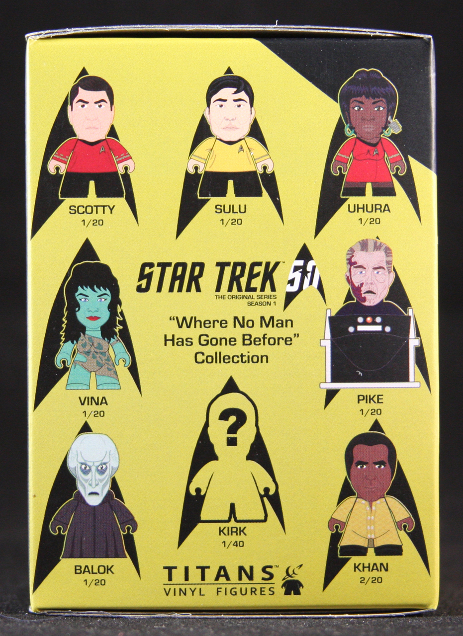 Titans Star Trek No Man Has Gone Before Blind Box