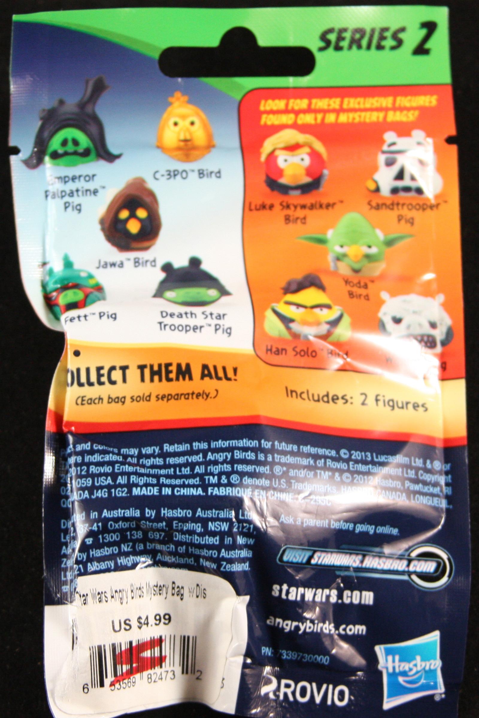 Angry Birds Star Wars Series 2 Blind Bag Blindboxes