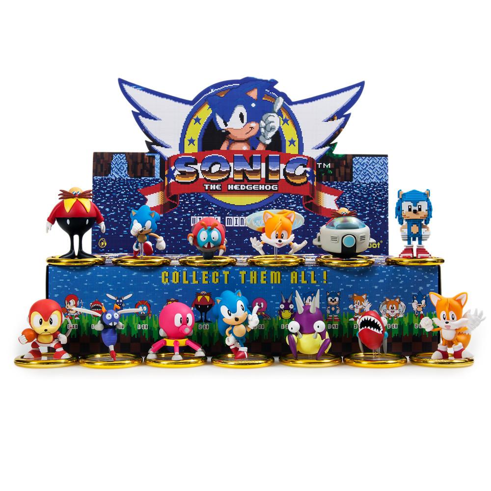 Kidrobot Sonic The Hedgehog Mini Figure Blind Boxed