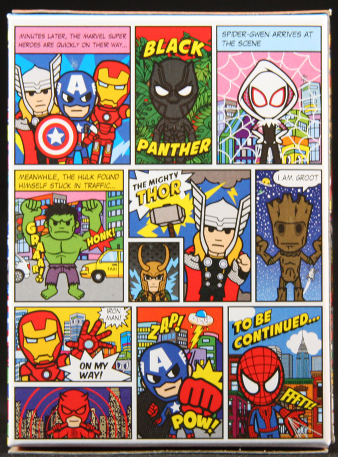 Tokidoki Marvel Mini Comics Frenzies Blind Box Blindboxes